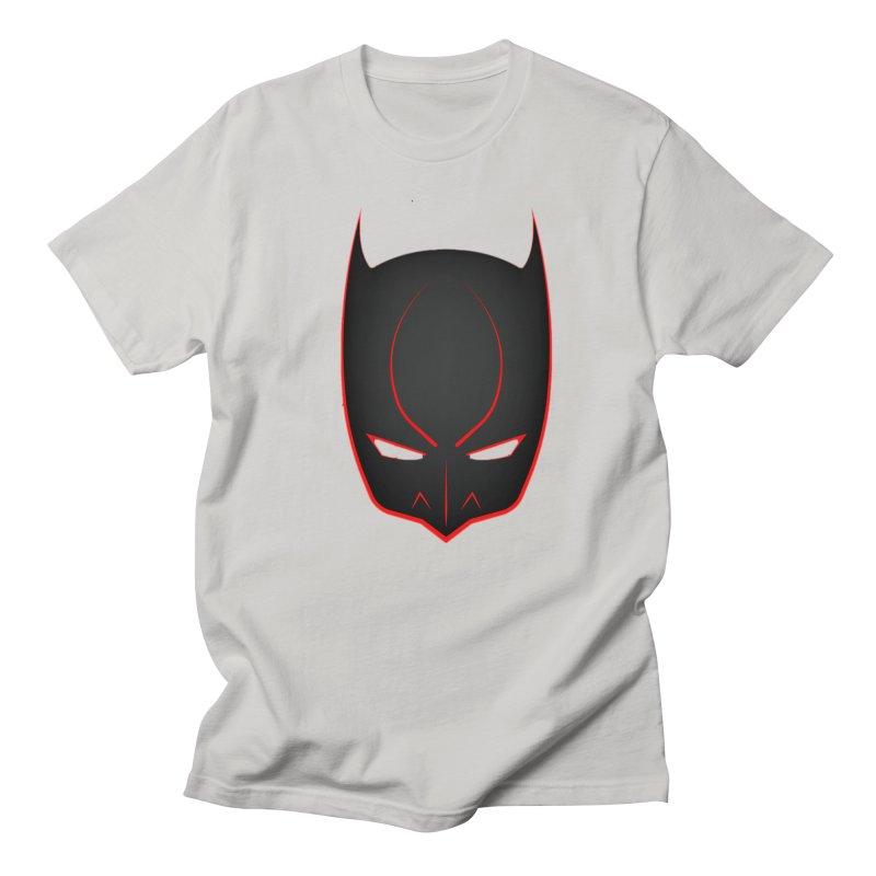 BAT MASK Women's Regular Unisex T-Shirt by DesignsbyAnvilJames's Artist Shop