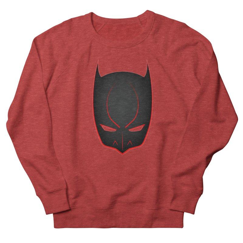 BAT MASK Women's French Terry Sweatshirt by DesignsbyAnvilJames's Artist Shop