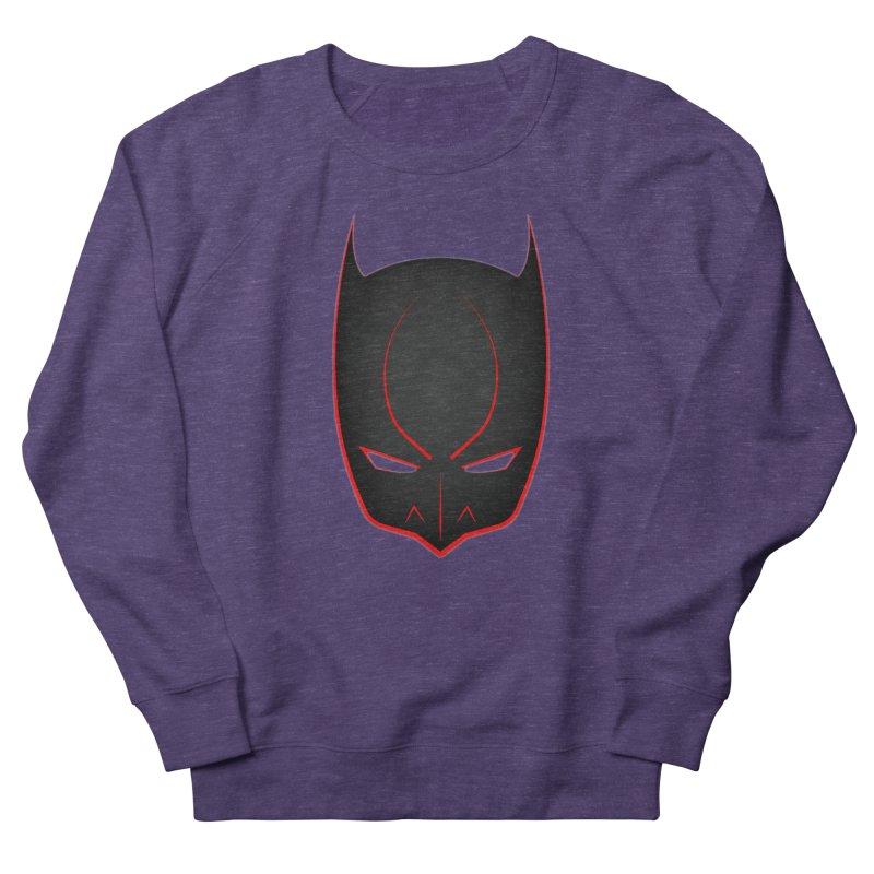BAT MASK Men's French Terry Sweatshirt by DesignsbyAnvilJames's Artist Shop