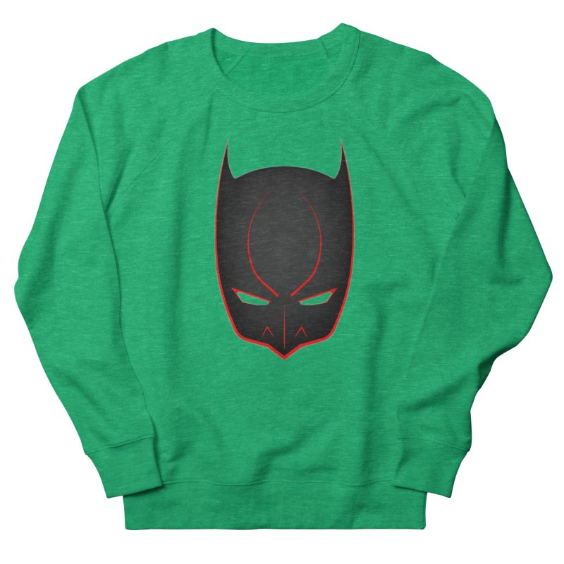 BAT MASK Men's French Terry Sweatshirt by DesignsbyAnvilJames's Artist Shop