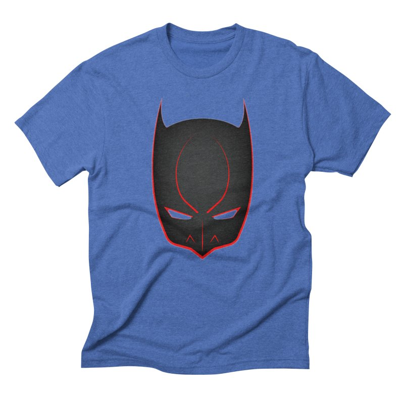 BAT MASK Men's Triblend T-Shirt by DesignsbyAnvilJames's Artist Shop