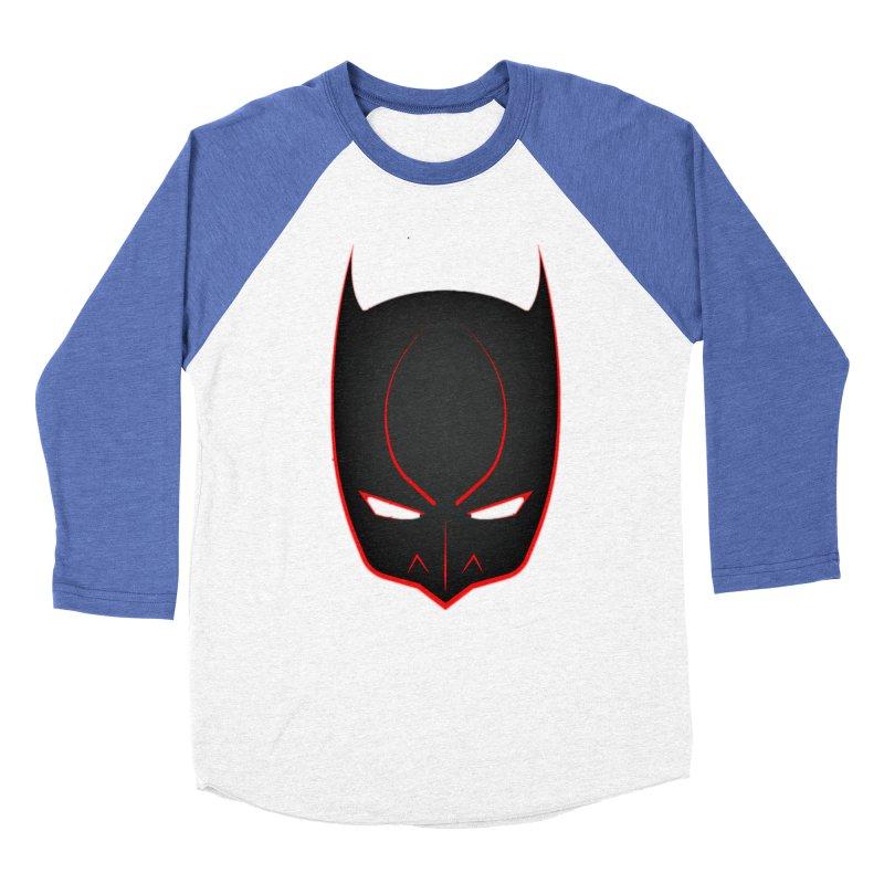BAT MASK Women's Baseball Triblend Longsleeve T-Shirt by DesignsbyAnvilJames's Artist Shop
