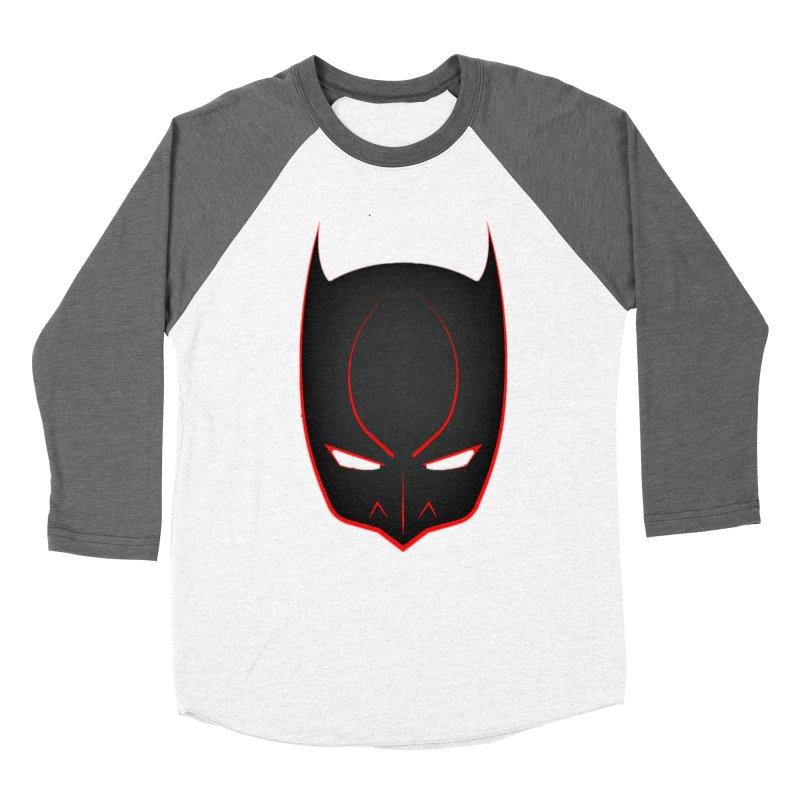 BAT MASK Women's Longsleeve T-Shirt by DesignsbyAnvilJames's Artist Shop