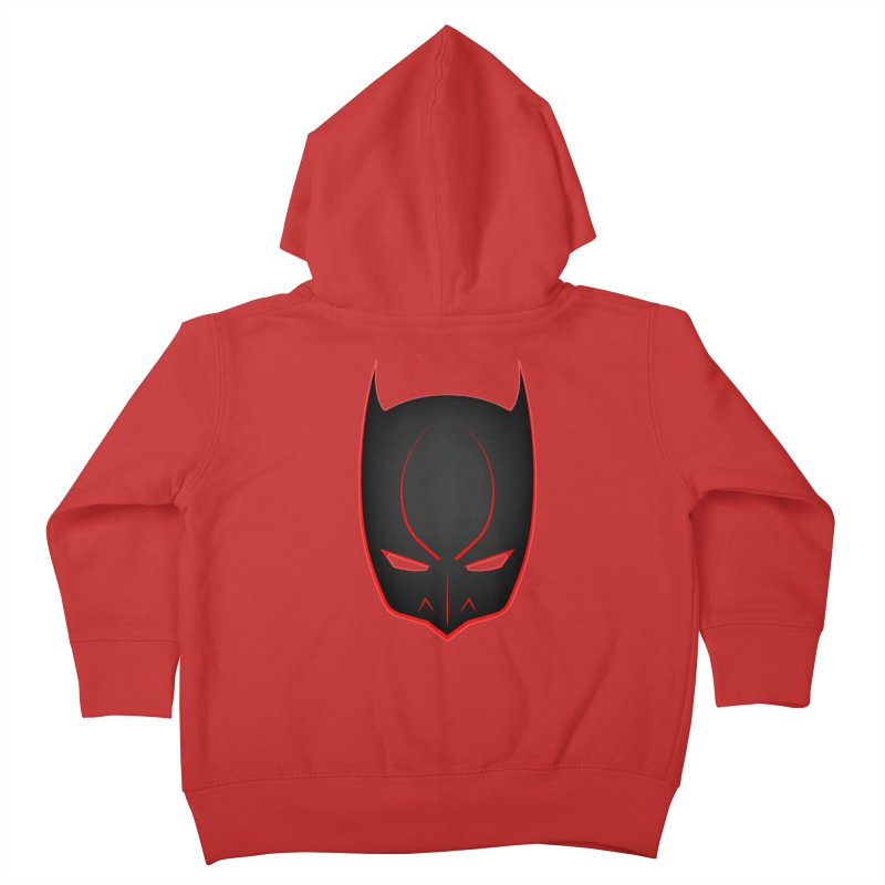 BAT MASK Kids Toddler Zip-Up Hoody by DesignsbyAnvilJames's Artist Shop