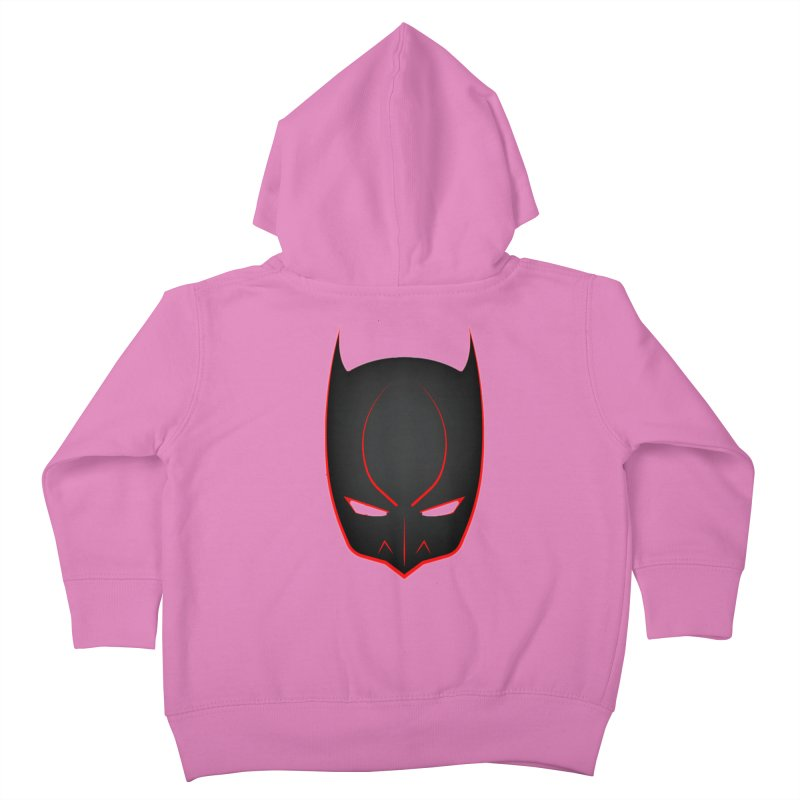 BAT MASK Kids Toddler Zip-Up Hoody by DesignsbyAnvilJames's Artist Shop