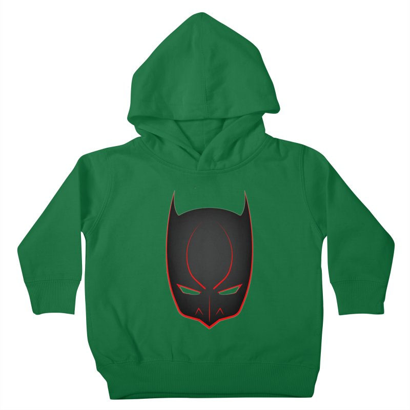BAT MASK Kids Toddler Pullover Hoody by DesignsbyAnvilJames's Artist Shop
