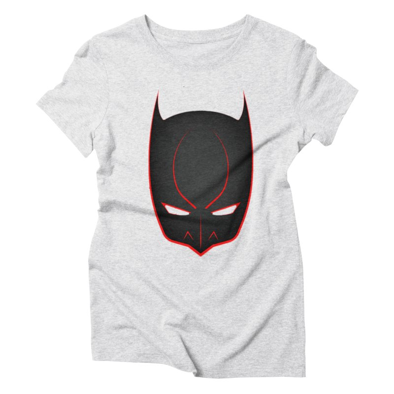 BAT MASK Women's T-Shirt by DesignsbyAnvilJames's Artist Shop
