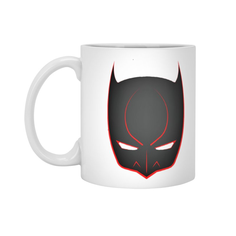BAT MASK Accessories Standard Mug by DesignsbyAnvilJames's Artist Shop
