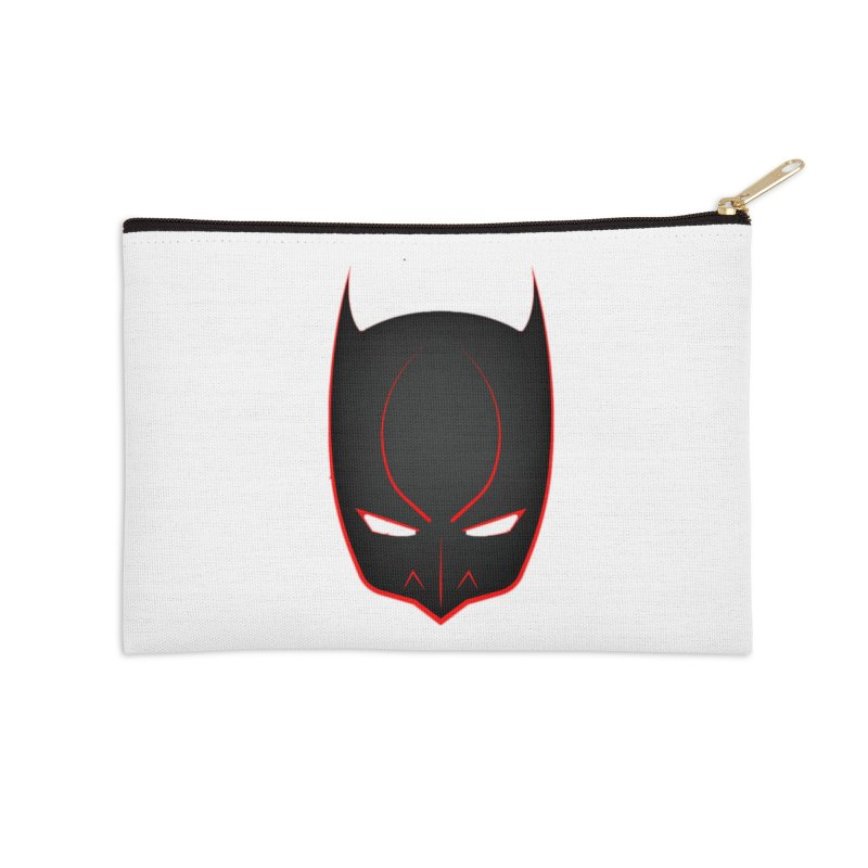 BAT MASK Accessories Zip Pouch by DesignsbyAnvilJames's Artist Shop