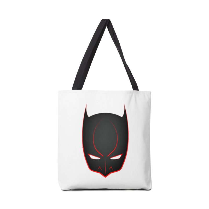 BAT MASK Accessories Tote Bag Bag by DesignsbyAnvilJames's Artist Shop