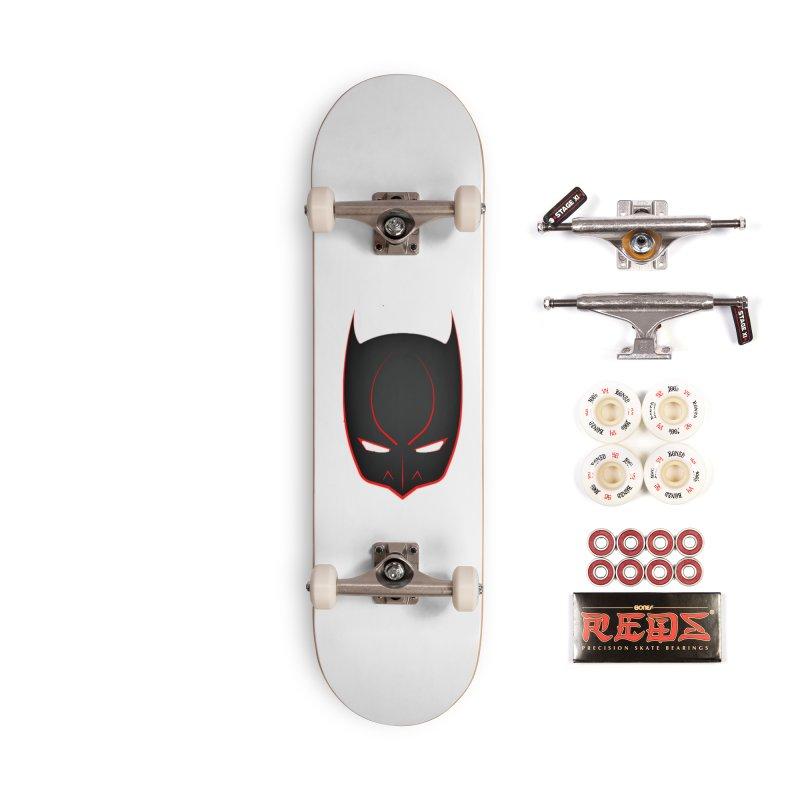 BAT MASK Accessories Complete - Pro Skateboard by DesignsbyAnvilJames's Artist Shop