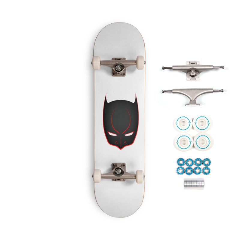BAT MASK Accessories Complete - Basic Skateboard by DesignsbyAnvilJames's Artist Shop