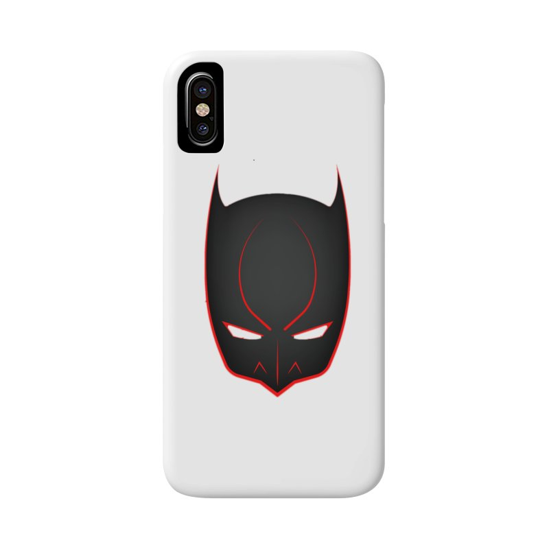 BAT MASK Accessories Phone Case by DesignsbyAnvilJames's Artist Shop