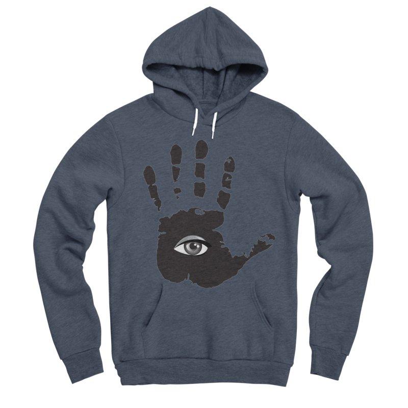 SEEING HAND Women's Sponge Fleece Pullover Hoody by DesignsbyAnvilJames's Artist Shop