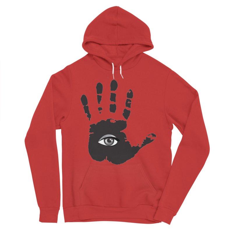 SEEING HAND Men's Sponge Fleece Pullover Hoody by DesignsbyAnvilJames's Artist Shop