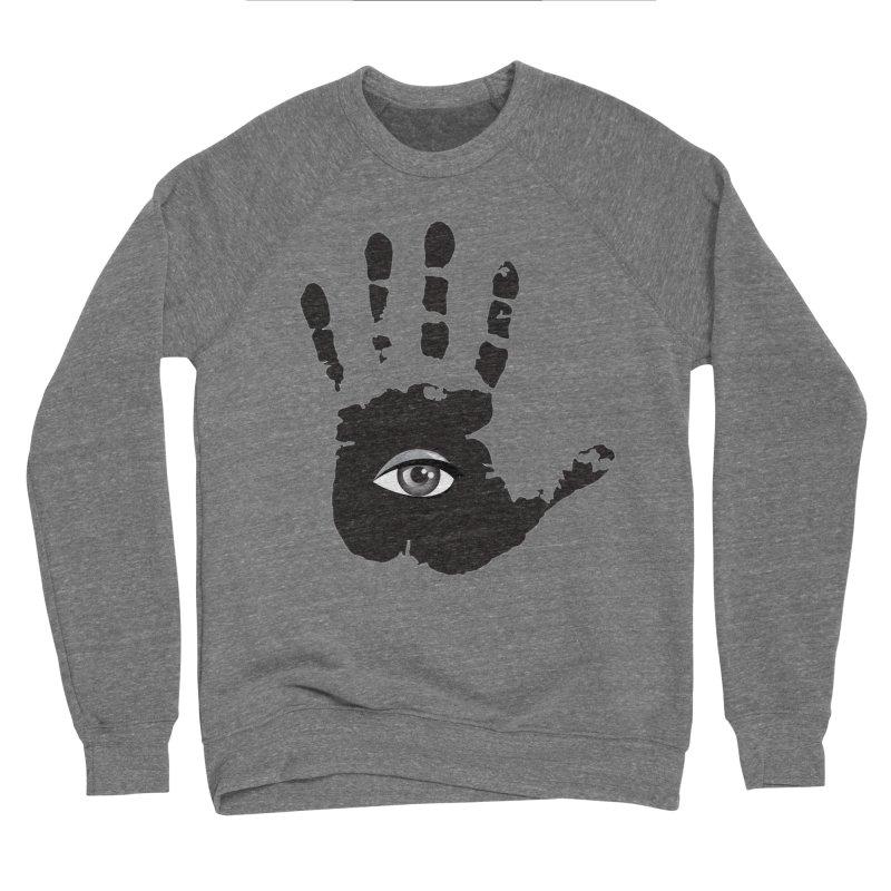 SEEING HAND Men's Sponge Fleece Sweatshirt by DesignsbyAnvilJames's Artist Shop