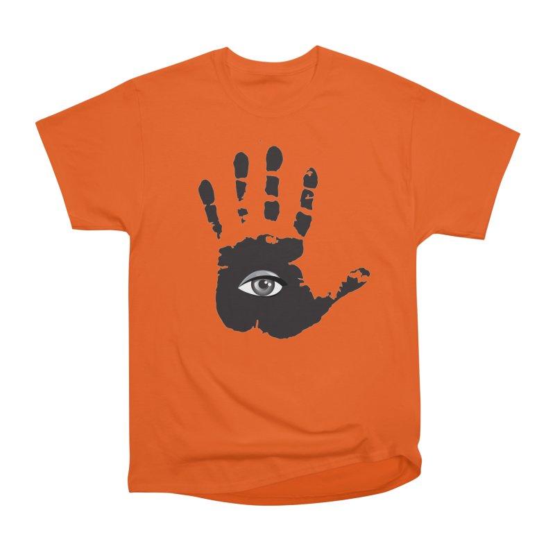 SEEING HAND Men's T-Shirt by DesignsbyAnvilJames's Artist Shop
