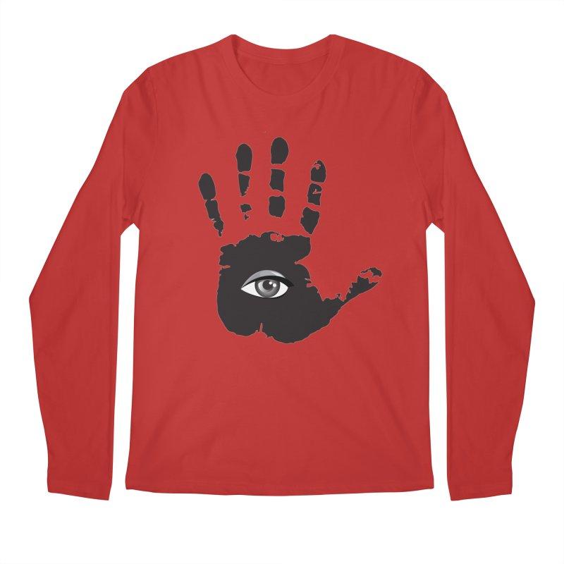 SEEING HAND Men's Longsleeve T-Shirt by DesignsbyAnvilJames's Artist Shop