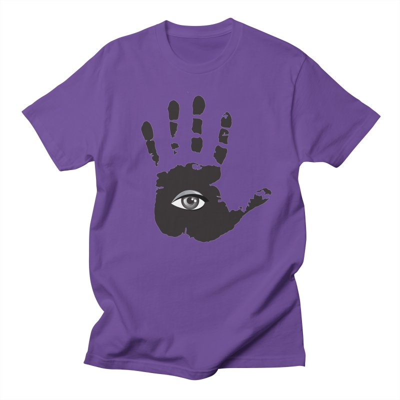 SEEING HAND Men's T-Shirt by DesignsbyAnvilJames's Artist Shop