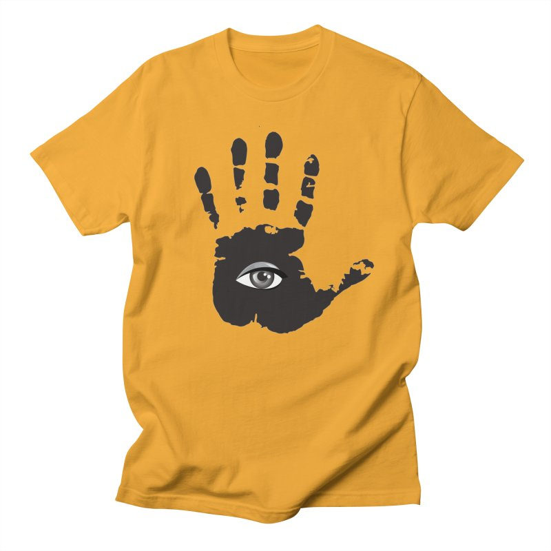 SEEING HAND Men's Regular T-Shirt by DesignsbyAnvilJames's Artist Shop