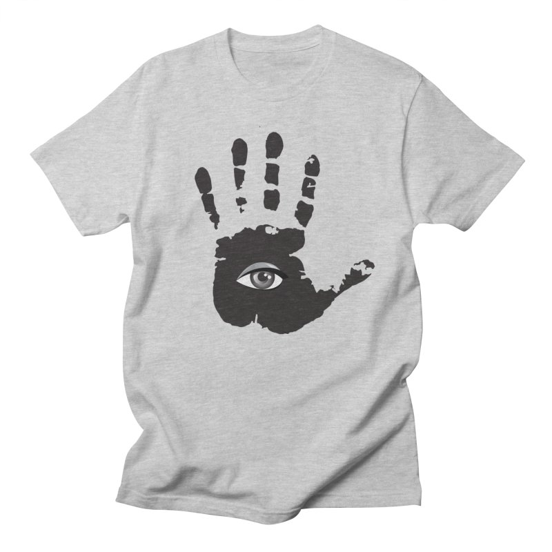 SEEING HAND Men's Regular T-Shirt by DesignsbyAnvilJames's Artist Shop