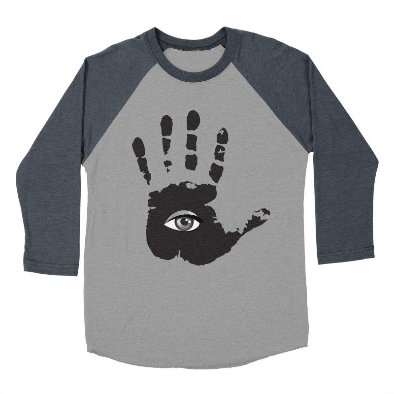 SEEING HAND Women's Baseball Triblend Longsleeve T-Shirt by DesignsbyAnvilJames's Artist Shop