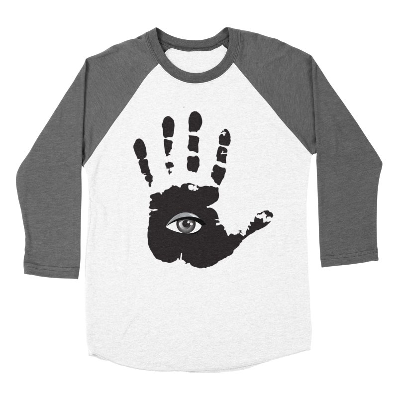 SEEING HAND Men's Baseball Triblend Longsleeve T-Shirt by DesignsbyAnvilJames's Artist Shop