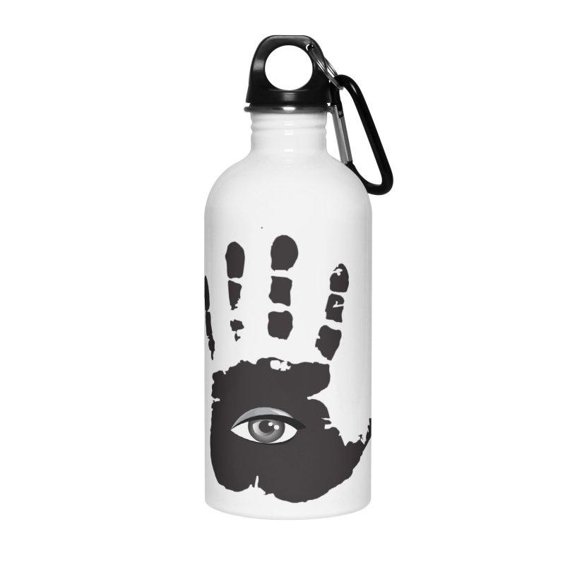 SEEING HAND Accessories Water Bottle by DesignsbyAnvilJames's Artist Shop