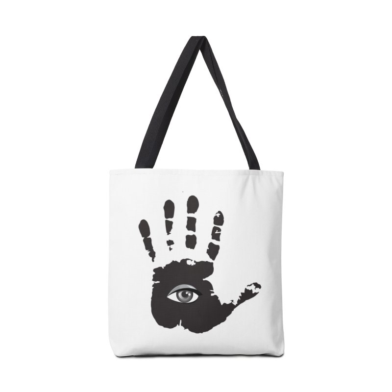 SEEING HAND Accessories Tote Bag Bag by DesignsbyAnvilJames's Artist Shop