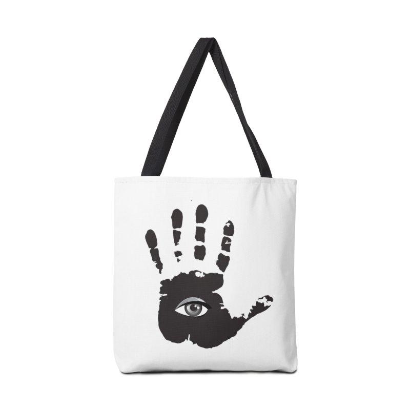 SEEING HAND Accessories Bag by DesignsbyAnvilJames's Artist Shop