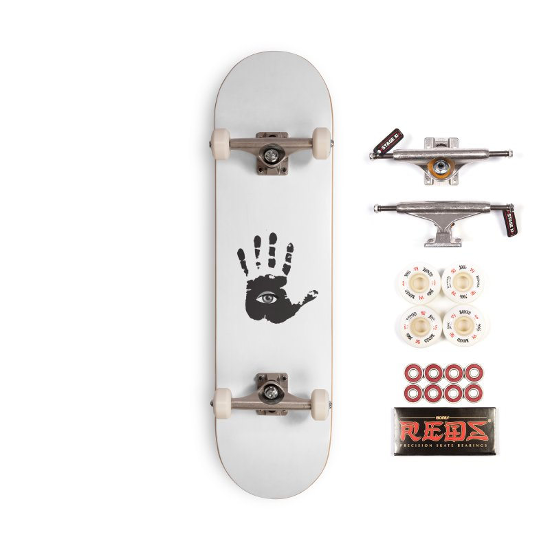 SEEING HAND Accessories Complete - Pro Skateboard by DesignsbyAnvilJames's Artist Shop
