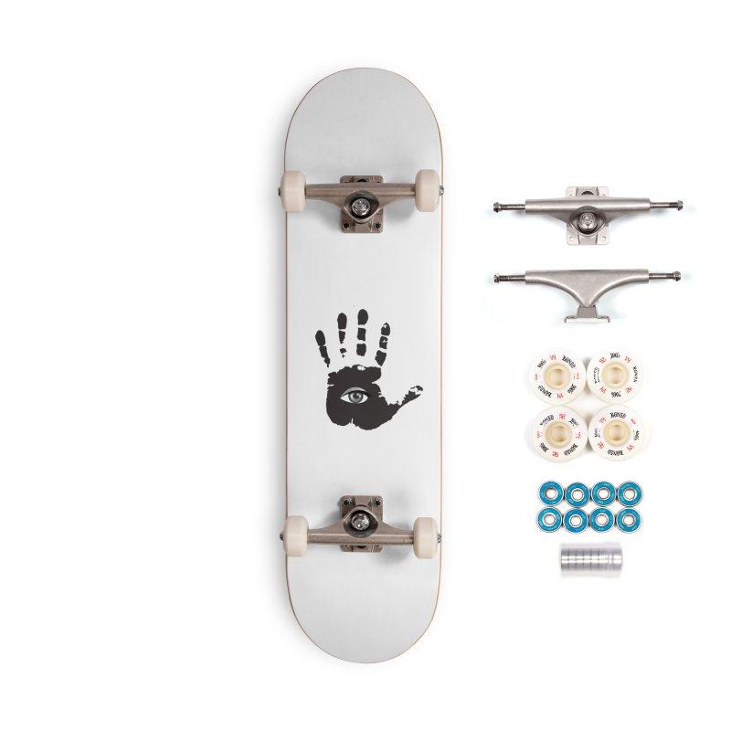SEEING HAND Accessories Complete - Premium Skateboard by DesignsbyAnvilJames's Artist Shop