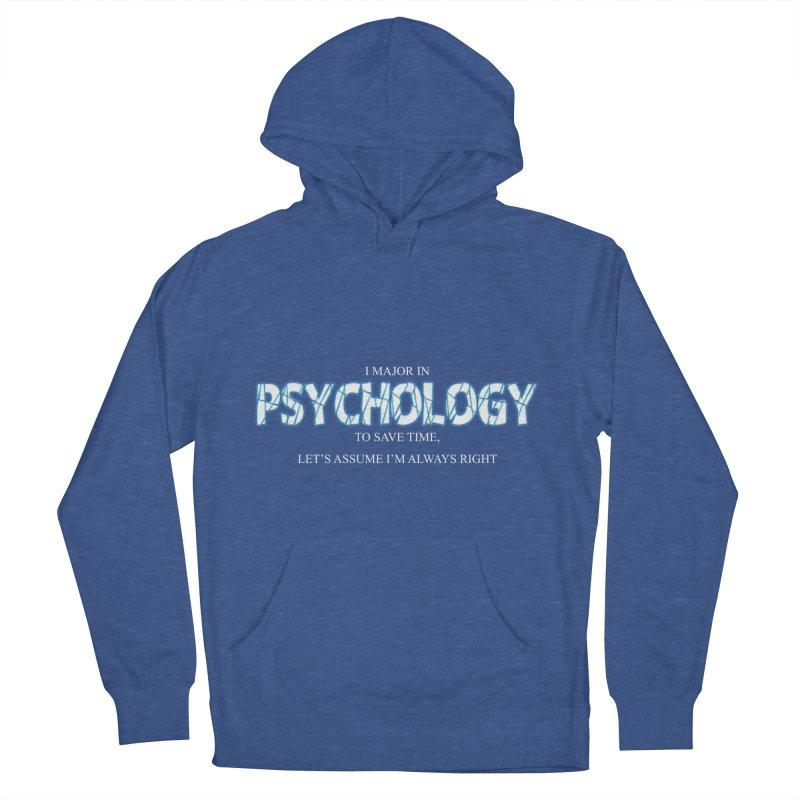 Psychology Men's Pullover Hoody by DesireArt's Artist Shop