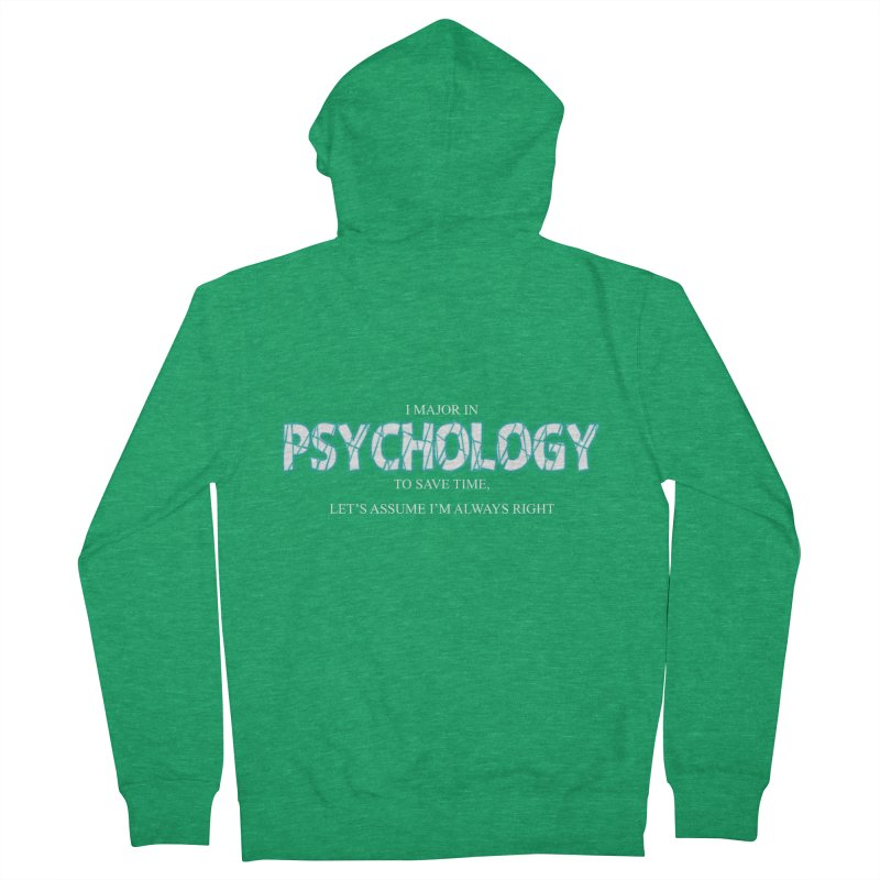 Psychology Women's Zip-Up Hoody by DesireArt's Artist Shop