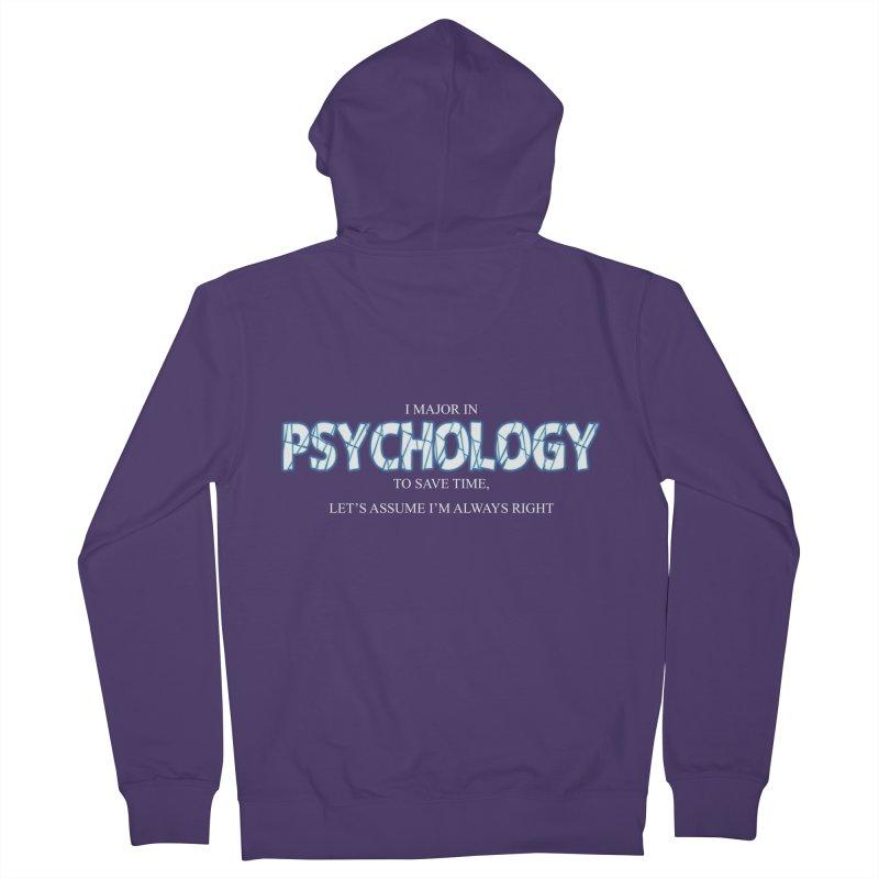 Psychology Women's Zip-Up Hoody by DesireArt's Artist Shop