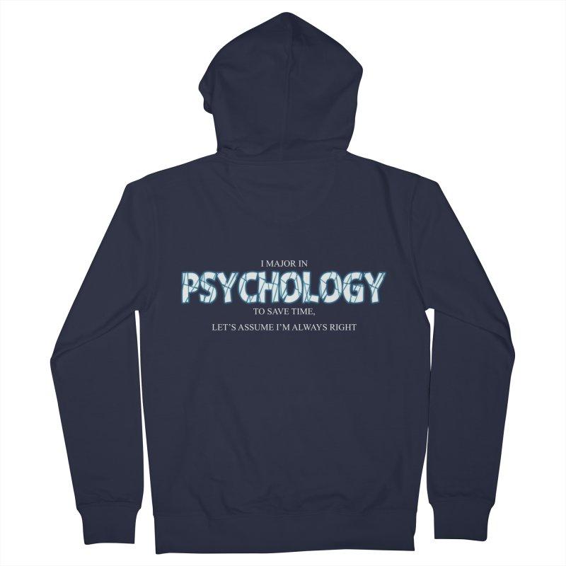 Psychology Men's Zip-Up Hoody by DesireArt's Artist Shop