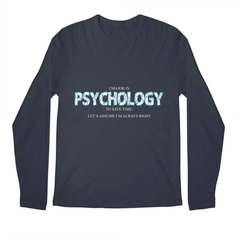 Psychology Men's Longsleeve T-Shirt by DesireArt's Artist Shop