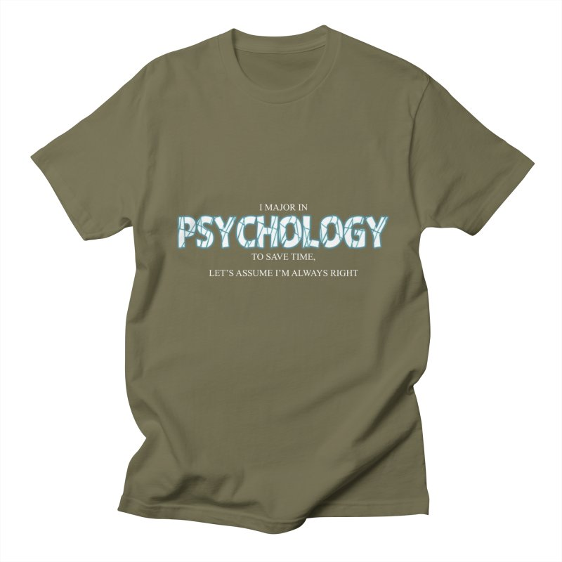 Psychology Men's T-Shirt by DesireArt's Artist Shop