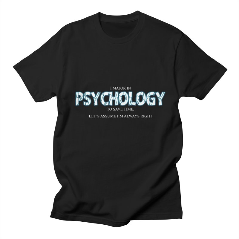 Psychology Men's T-shirt by DesireArt's Artist Shop