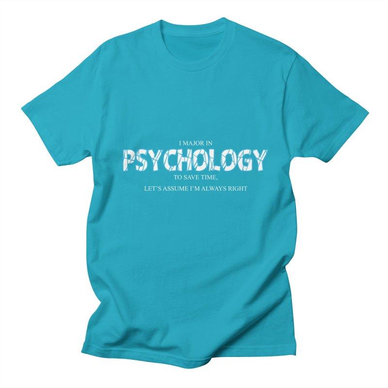 Psychology Women's Unisex T-Shirt by DesireArt's Artist Shop