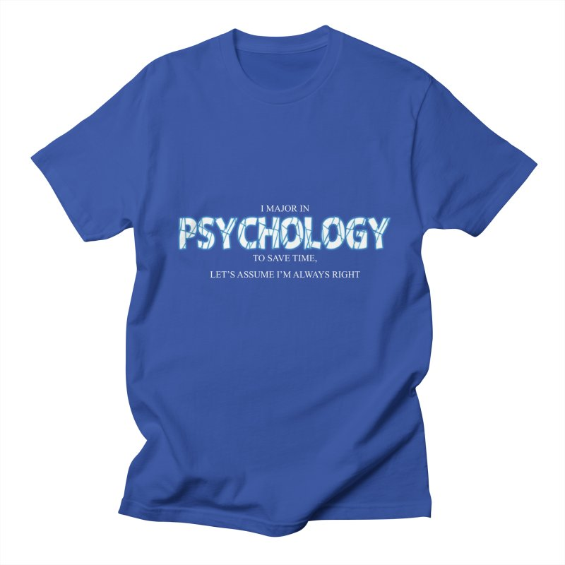 Psychology Women's Unisex T-Shirt by DesireArt's Artist Shop