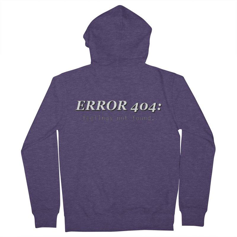 error 404 Men's Zip-Up Hoody by DesireArt's Artist Shop