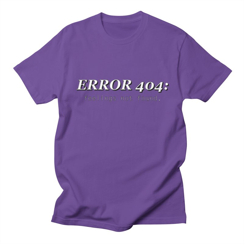 error 404 Men's T-Shirt by DesireArt's Artist Shop