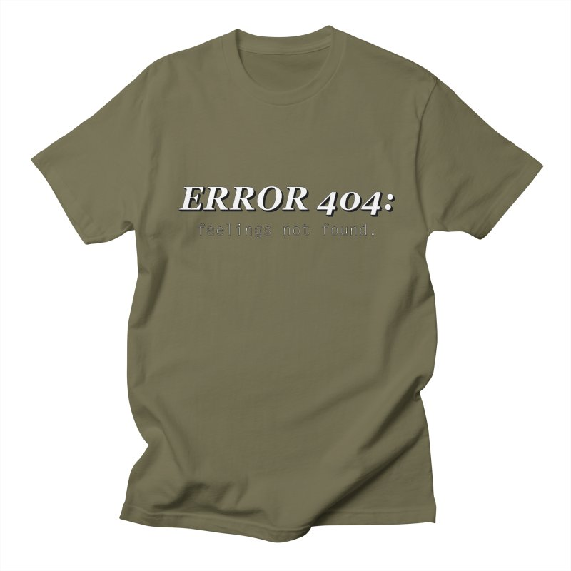 error 404 Men's T-Shirt by DesireArt's Artist Shop