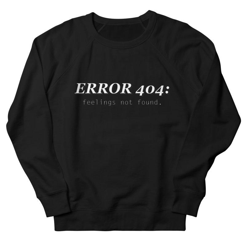 error 404 Men's Sweatshirt by DesireArt's Artist Shop
