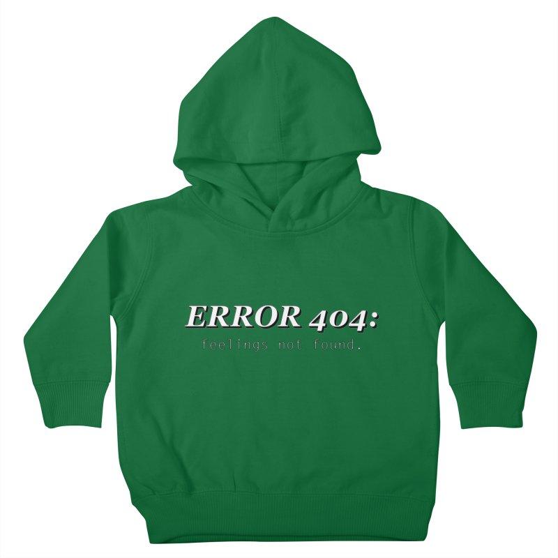 error 404 Kids Toddler Pullover Hoody by DesireArt's Artist Shop