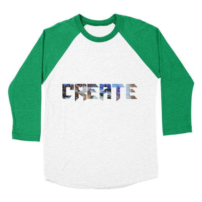 Create Women's Baseball Triblend T-Shirt by DesireArt's Artist Shop