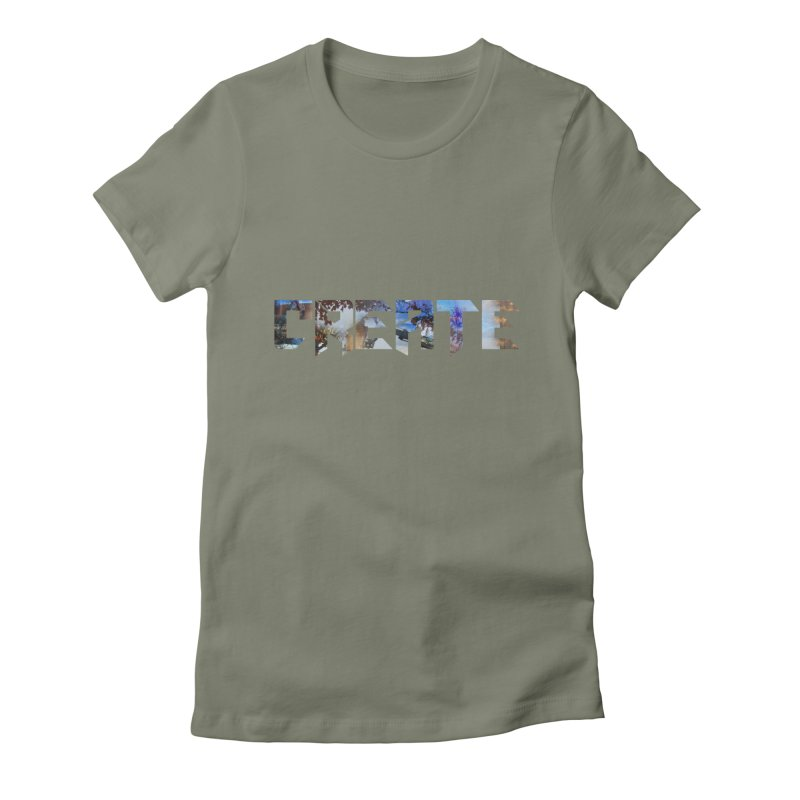 Create Women's Fitted T-Shirt by DesireArt's Artist Shop