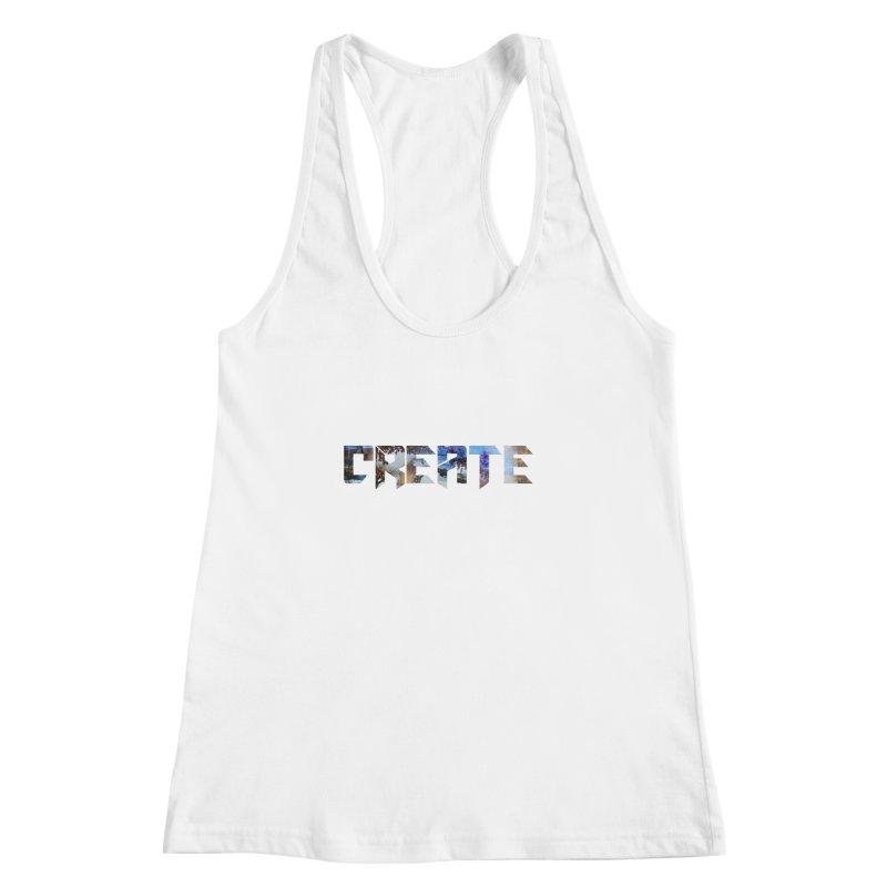 Create Women's Racerback Tank by DesireArt's Artist Shop