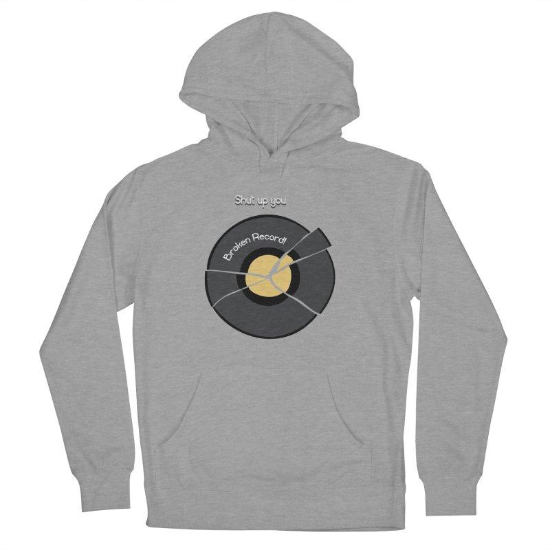 Broken Record Women's Pullover Hoody by DesireArt's Artist Shop